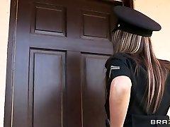 Brazzers - Big-tit cop Courtney Cummz is humped & penalized