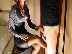 Female Dom handjob compilation
