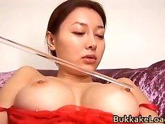 Kinky Chinese juggs
