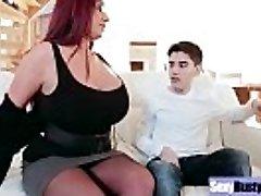 (Emma Butt) Round Big Udders Mummy Enjoy Hard Sex movie-19