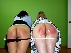Justice is Conformed: Caroline and Cheshire - (Spanking)