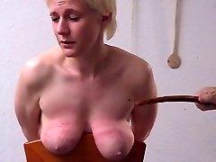 strict spanking tits