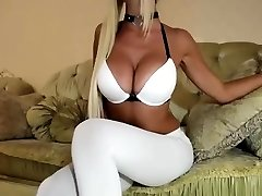 Blonde Babe Big Boobs Tight Pussy
