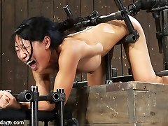 Tia Ling in Tia LingSuch a tiny donk, such a huge machine cock! - DeviceBondage