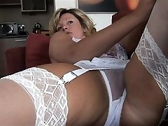 Ginormous boobs erotic babe creampie fuck