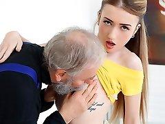 Empera in Old Guy Fucks A Fresh Babe - Elderly-n-Young
