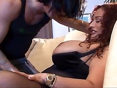Big redheaded Cougar getting well served