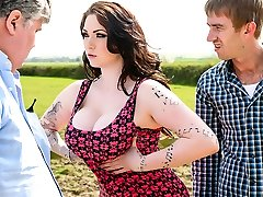 Harmony Reigns & Danny D in Tiny British Cock-Whore - Brazzers