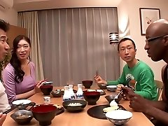 Incredible Japanese lady Reiko Kobayakawa in Best big dick, big orbs JAV clip