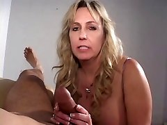 Mature ciggy smoking cock sucking grandma gets a explosion on her hooters