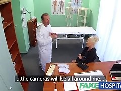 FakeHospital Dirty doctor pokes busty porno star