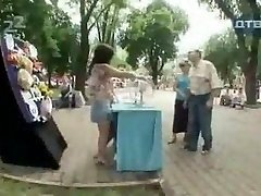 Russian Humor Stunning and jokey candid camera