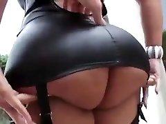 Jaw-dropping latina with big tits