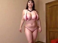 Semantalily crimson bikini
