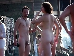 enormous natural boobs beach public nudity