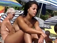 Home D20 - Super Hot nudist girl at  the beach