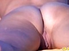 Voyeur NUDIST Inexperienced Couple - Back Pussy Close Up