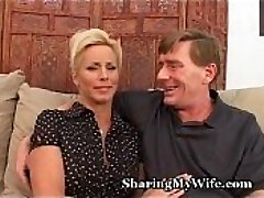 Mature Couple Recruits Bull To Pulverize Wifey