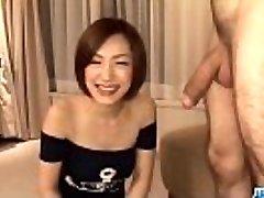 Subtitles - Japanese babe Nene Iino suck bone