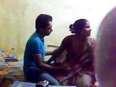Bangla shy gf boob deep-throat and pussy munch