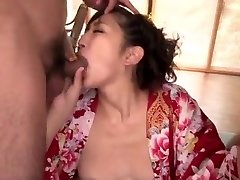 Wild rendezvous with 2 cocks for insolent Yuna Shiratori
