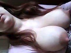 Amateur giant boobs (Camaster)