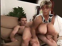 immense tit milf rides cock