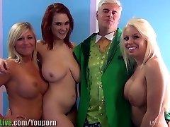 St.Patrick's pornographic star orgy soiree! Vol.1