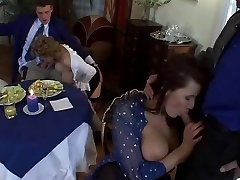 European Milf Lovemaking with Big Tits and Sexy Outfits