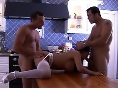 Horny sex industry star Cory Everson in hottest gangbang, blowjob gonzo scene