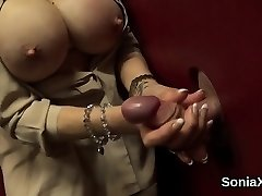 Adulterous brit milf lady sonia exposes her large udders01