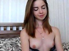 Teenie Puffy Nips Tiny Tits Camgirl Wants a Facial Cum Gargle