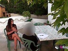 English tutor fuck her college girl in Mallorca