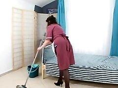 boy bang hairy mature maid