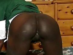 Hottest amateur Black and Ebony, Big Tits fuck-fest video
