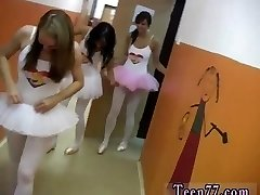 Massive soft boobs Super-fucking-hot ballet gal orgy
