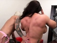 Dani Andrews Boinks Brandimae With A Strap-on