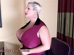 Huge Hooter Claudia Marie Destroys Kayla Kleevage