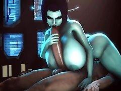 Anime Porn 3D huge boobs Soria soft nailed