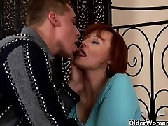 Sexually Excited grandma acquires fisted and breast drilled
