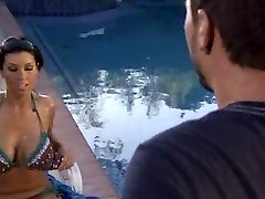 Pool poke with Dylan Ryder