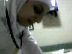 arabic nurse deep-throat cock