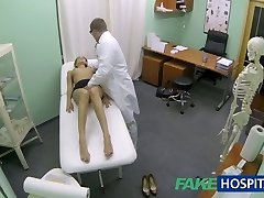FakeHospital Super-steamy girl with big orbs gets doctors treatment
