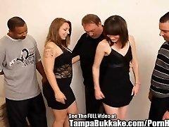 Teen College Sluts Bukkake Group Smash Party!