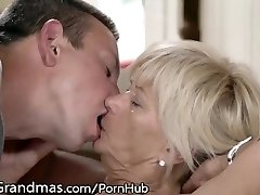 LustyGrandmas Fit Grandmother Dicked in Shaved Cell