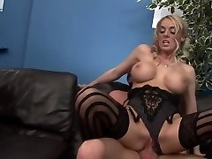 Horny pornstars Antonia Deona and Dani Amour in sumptuous group sex, underwear xxx clip