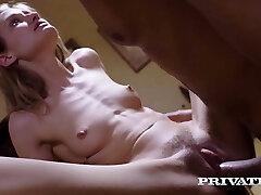 Private.com - Skinny Tiffany Tatum Fucks Hard Gym Professor!