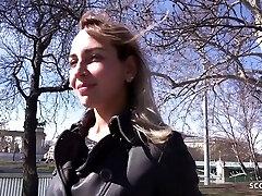 GERMAN SCOUT - Humungous HANGING TITS TEEN FUCK AT STREET PICKUP