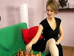 Russian lady  fucking