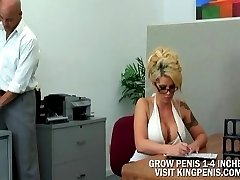 BROOKE HAVEN Blonde gets spanked and fucked
